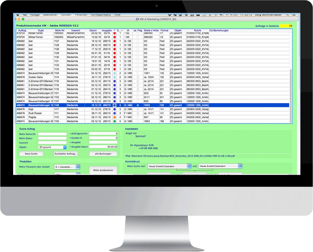 VMP ist eine Sammlung von Produktions-Erweiterungen für VM Verlags-Manager®